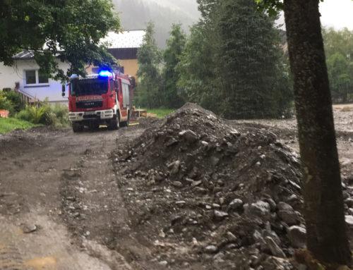 4 Tage Katastropheneinsatz in Donnersbachwald