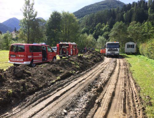 +++T03-VU-Berg-ÖL+++ Einsatz für FF Donnersbach