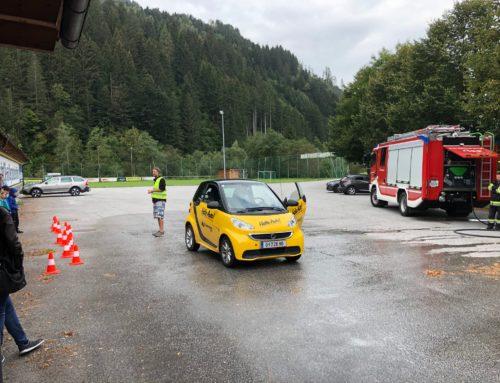 "Aktion ""Hallo Auto"" der Volksschule Donnersbach"
