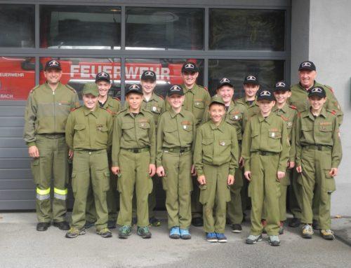Erfolg für die Feuerwehrjugend Donnersbach